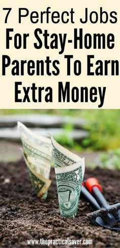 Make Money from Home: 7 Perfect Jobs For Stay-Home Parents To Earn Money. Earn Money From Home, Make Money Fast, Earn Money Online, Make Money Blogging, Online Jobs, Saving Money, Money Tips, Saving Tips, Online Survey