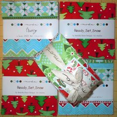 Yummy MODA Christmas Fabric!!