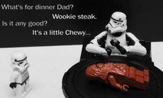 Star Wars Humor - Chewy Wookie