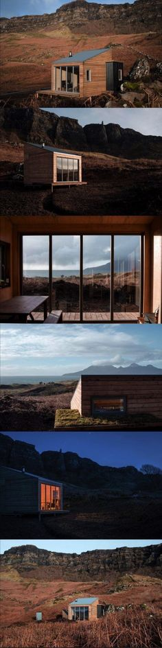 Sweeney's Bothy is an innovative new bothy located on the Isle of Eigg, created…