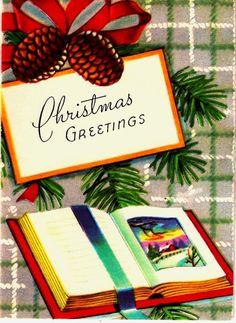 Vintage Christmas Card ~ from PaperPrizes