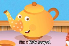 "I'm a Little Teapot Have you ever sung the song ""I'm a Little Teapot"" with your children?  It's a fun one for young children because they enjoy doing the motions to th…"