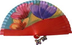 Spanish Hand Fan Fan Decoration, Walking Canes, Old And New, Hand Fans, Serendipity, Umbrellas, Butterflies, Women's Fashion, Costumes