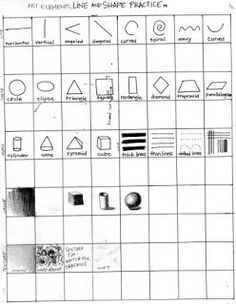 Worksheets Elements Of Art Worksheets elements of art worksheets and minneapolis on pinterest cool worksheet also other great warm up exercises pre assessment