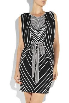 Thurley Stripped Jersey dress.