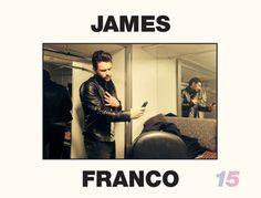 【ELLEgirl】ジェームズ・フランコ、セルフィーでカレンダーを作る!|エル・ガール・オンライン