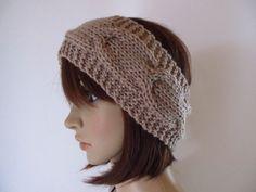 Knitted Hats, Crochet Hats, Knitting, Style, Fashion, Headboard Cover, Headband Bun, Knitting And Crocheting, Threading