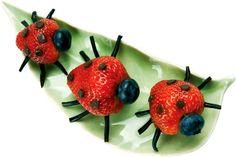 Strawberry Ladybugs!!!