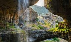 See Baatara Gorge Waterfall's three natural bridges - Posted on Roadtrippers.com!
