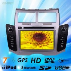 Car Dvd Gps Navigation Radio Video Bluetooth for Toyota Yaris 2005-2011 by ERBIN TECHNOLOGY. $329.00. CAR DVD PLAYER WITH GPS FOR TOYOTA YARIS 2005-2011 Suits for TOYOTA YARIS 2005-2011 TOYOTA Belta 2005-2011 TOYOTA Vitz 2005-2011 TOYOTA XP90 2005-2011 Daihatsu Charade 2005-2011  Language: Chinese / English / Russian / Arabic / Spanish / Portuguese / French / German / Thai / Turkish Description:    ·6.2 inch 2-DIN touch screen TFT LCD display, 3D GUI User Interface easy to oper...