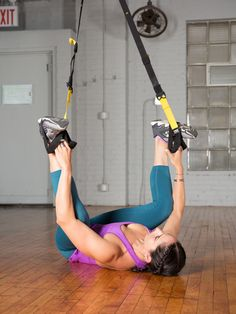 6. Happy Baby #trx #yoga http://greatist.com/move/trx-yoga-workout