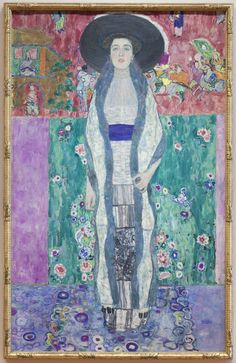 """See and Be Seen - Gustav Klimt's """"Adele Bloch-Bauer II,"""" at MoMA"""