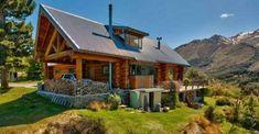 Alpine Log Cabin With Beautiful Interior And Stunning Views