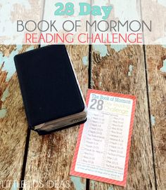 Book of Mormon Reading Chart. Take the 28 day challenge and read the Book of Mormon. This free reading chart will help you accomplish your goal!