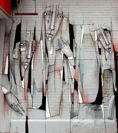 Damon Ginandes à Manhattan, NY - www.street-art-avenue.com