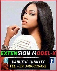 Extension Model-x Ditta di capelli veri 100% naturali