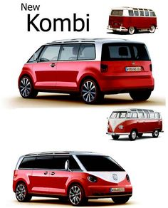 New Kombi? I so hope so Volkswagen Routan, Vw T1, Volkswagen Models, Jeep Carros, Kombi Food Truck, K100 Bmw, Combi Wv, Vw T3 Syncro, Transporter