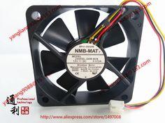NMB-MAT  2406GL-04W-B29 Graphics card cooling fan DC12V  0.072A  3pi n 5pcs