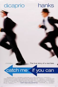 Catch Me If You Can With Leonardo DiCaprio, Tom Hanks, Christopher Walken. Written by Jeff Nathanson, Frank Abagnale Jr. and Stan Redding. Directed by Steven Spielberg. Frank Abagnale, Martin Sheen, See Movie, Movie List, Movie Tv, Great Films, Good Movies, Movies Showing, Movies And Tv Shows
