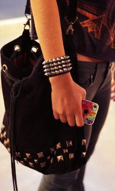 rock style. Accesorize yourself.