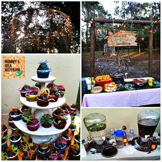Mommy's Idea Notebook: Winter Camp Party
