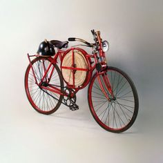 Firefighter Bicycle! Now this is a creative initiative!
