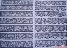 Filet Crochet, Crochet Borders, Thread Crochet, Crochet Doilies, Weaving Patterns, Lace Patterns, Embroidery Patterns, Crochet Patterns, Loom Bands