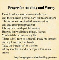 Prayers for Worry Stress and #Don'tPanic,Don'tPanic #PanicAttackPrayer
