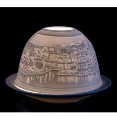 Πορσελάνινο Φωτιστικό Θόλος Άγιος Νικόλαος - Παλάτι της Κνωσσού Kezernfarm 12cm Butter Dish, Cool Gifts, Gift Ideas