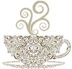 Pattern: `Coffee` by Alessandra Adelaide Needlework Designs