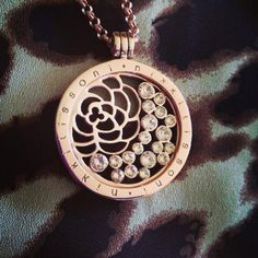 How fabulous is this stunning image of our rose gold China Garden coin taken by Indulge Jewellery! -xx-