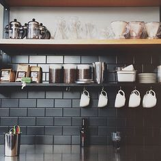 my future kitchen because he loves coffee ;)