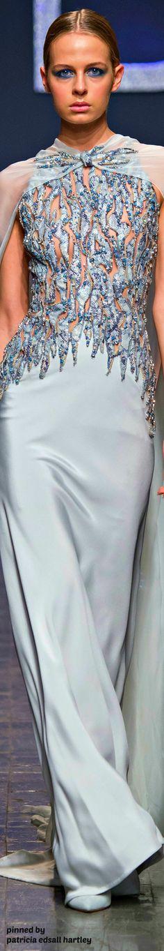 Zuhair Murad Fall 2018 Couture Fashion Show Haute Couture Dresses, Couture Mode, Couture Fashion, Runway Fashion, Beautiful Gowns, Beautiful Outfits, Cool Outfits, Zuhair Murad, Love Fashion