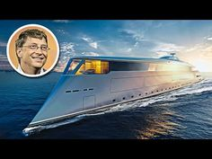 Bill Gates' $644 Million Hydrogen Powered Superyacht. 21.9. 2020 www.netkaup.is NCO eCommerce, IoT www.nco.is Super Yachts, Bill Gates, Luxury Lifestyle, Surfboard, Boat, Architecture, World, Building, Travel