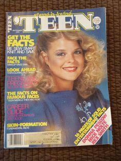 September 1979 cover with Rhea Deszcz