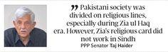 Political musings: Taj Haider on Karachis descent into chaos - The Express Tribune