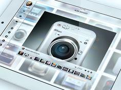 iPad Mobile Portfolio - Shot View iOS 7 Style on Behance