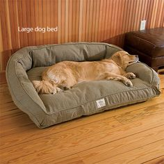 Large dog bed.