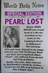 ..Janis Dies  (all in a roll, Janis, Jimi, Jim and all drug related).
