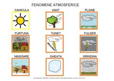 Fenomene atmosferice by Dana Horodetchi, via Slideshare Romanian Language, Joy, Learning, Gaia, Languages, Autism, Homeschooling, Speech And Language, Being Happy