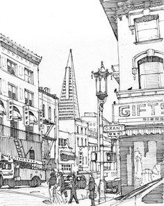 Grant Avenue, San Francisco by Edgeman13
