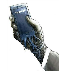 Banksy, the U. street artist who doesn't shy from making commentary on social and technology issues with his graffiti street art, published a new sketch with a terrifying reminder that your iPhone has basically become a parasitic extension. Street Art, Bansky, Gcse Art, Urban Art, Amazing Art, Awesome, Art Drawings, Art Sketches, Cool Art