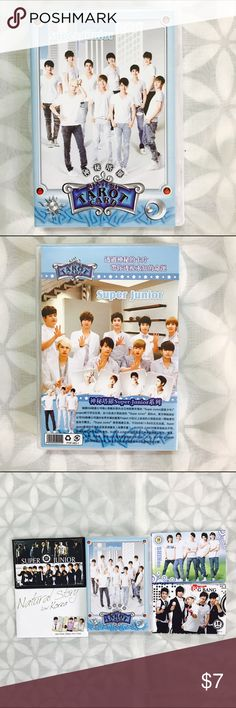 Super Junior SUJU Tarot Playing Cards NEW BRAND NEW Other