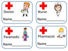 Community Helpers Preschool Discover Hospital Dramatic Play Area - 29 Fun Printables Hospital Dramatic Play Area - 29 Fun Printables by The Ginger Teacher Dramatic Play Themes, Dramatic Play Area, Dramatic Play Centers, Preschool Learning, Preschool Activities, Doctor Theme Preschool, Kids Doctor Kit, Community Helpers Preschool, Role Play Areas