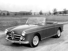 1955 Alfa Romeo 1900 SS Convertible Worblaufen