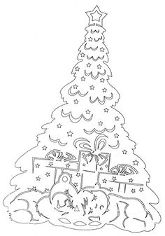 Christmas stencils to cut out of paper on the windows: 24 thousand images found in Yandeks. Christmas Stencils, Christmas Templates, Christmas Crafts, Christmas Tree, Foam Crafts, Metal Crafts, Diy And Crafts, Kirigami, Paper Cutting Patterns