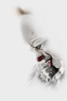 Pennywise artwork by Steve McGinnis. Joker Clown, Clown Horror, Pennywise The Dancing Clown, Arte Horror, Halloween Horror, Horror Art, Horror Movie Characters, Best Horror Movies, Scary Movies