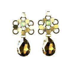 Paluma earrings via @lionetteny #jewelry #fashion