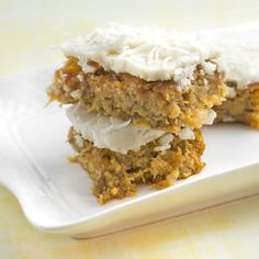 Rich, sweet and moist coconut flour Hummingbird Slice Cake. Get five tips on how to bake with coconut flour. Read the difference between coconut oil and butter.