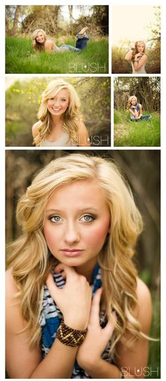 I like that it's out in a beautiful field.   I don't really want my senior pictures near train tracks or something   industrial